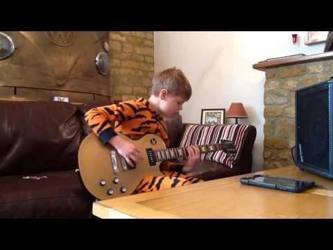 10 Years Old And Playing Like B.B King!