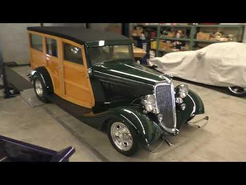 1934 Ford Woody Wagon Video - Brizio Street Rod