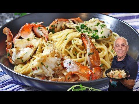 Limoncello Crab Scampi Recipe