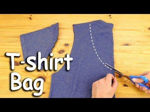 How To Make A T-Shirt Bag