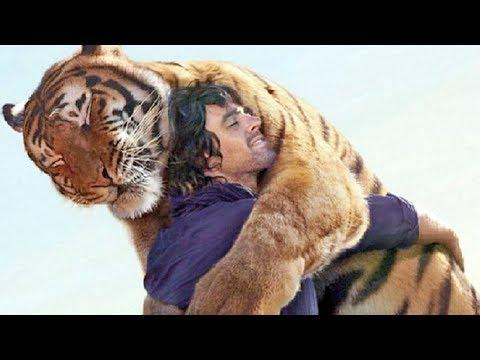 Animals Show Love for People – Animals Hugging People Videos – Animal Hugs Video