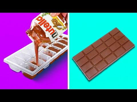 27 CHOCOLATE IDEAS ANYONE CAN MAKE