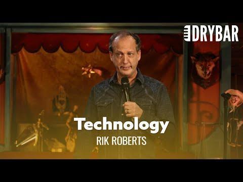 Don't Let Technology Parent Your Children Video. Comedian Rik Roberts