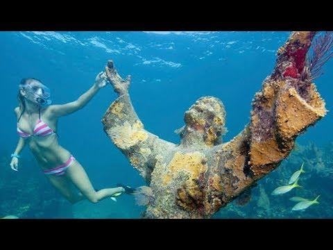 Top 10 Mysterious Things Found Underwater