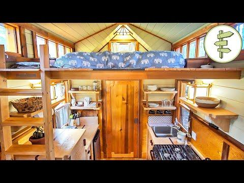 Handcrafted Tiny House with Beautiful Design & Woodwork - Full Tour