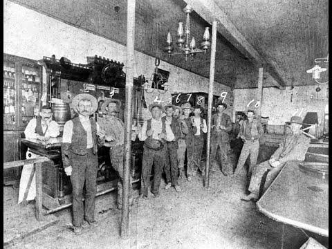 22 Vintage Photos Showing Old West Saloons From the 19th and Early 20th Centuries Video