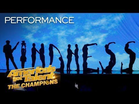 The Silhouettes Might Make You Cry With This Emotional Act - America's Got Talent: The Champions