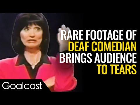 Deaf Comedian Turns Tragedy Into Comedy | Kathy Buckley Inspirational Video