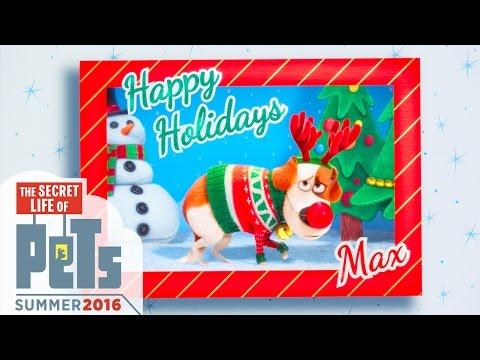 The Secret Life Of Pets - The Holiday Greeting (HD) - Illumination