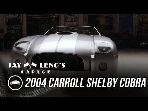 Jay, Donald Osborne and 2004 Carroll Shelby Cobra Concept - Jay Leno's Garage