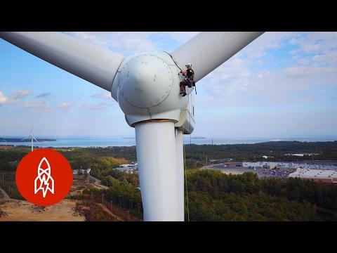 This Woman Climbs Wind Turbines For A Living | What's Your Super Power