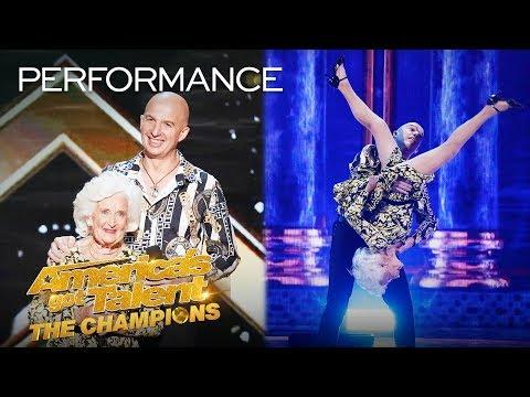 Paddy and Nicko SHOCK The Judges With Mind-Blowing Salsa! - America's Got Talent: The Champions