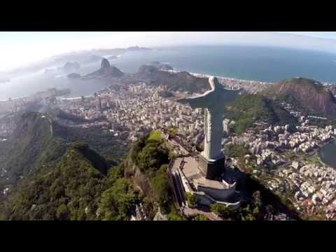 Inside The Statue Of Christ In Rio De Janeiro, Brazil