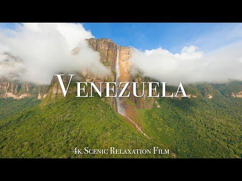 Venezuela 4K - Scenic Relaxation Film With Calming Music #Video