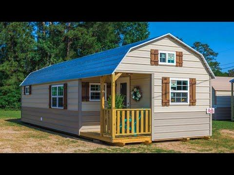 Incredibly Beautiful SHED Cabin Has It All Video