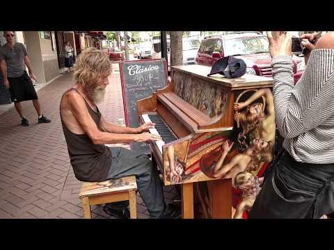 Homeless Man Plays Piano Beautifully (Sarasota, FL) (ORIGINAL)