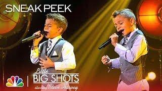 Little Big Shots - Adorable Twin Singers from Spain (Sneak Peek)