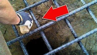 THIS IS WHAT HAPPENS, IF YOU THROW A STONE IN THE DEEPEST HOLE ON EARTH!