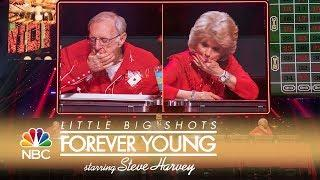 Little Big Shots: Forever Young - Competitive Eaters Chow Down (Episode Highlight)
