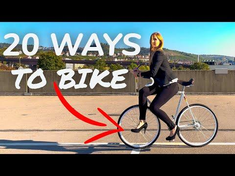 20 Ways to Bike - try not to laugh #Video