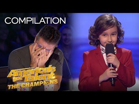The Very BEST Comedy From JJ Pantano! - America's Got Talent: The Champions