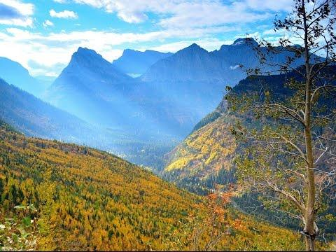 Calming, Autumn Nature Drive In Glacier National Park Will Inspire You
