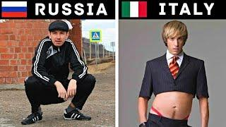 HOW THUGS LIVE IN DIFFERENT COUNTRIES