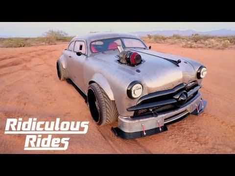 '49 Ford Fused With '08 BMW - And It's Epic | RIDICULOUS RIDES #Video