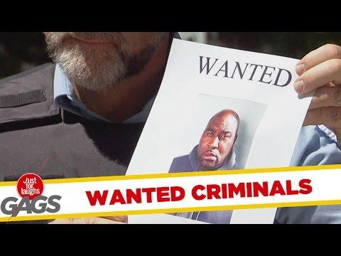 Wanted Fugitives Pranks - Best Of Just For Laughs Gags