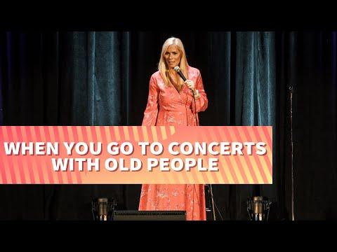 When You Go To Concerts With Old People Video | Comedian Leanne Morgan