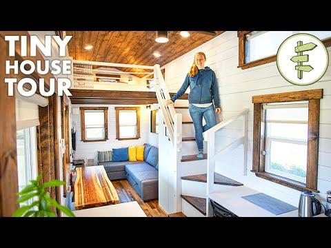 BIG Beautiful TINY HOUSE with Spacious & Modern Design - Full Tour