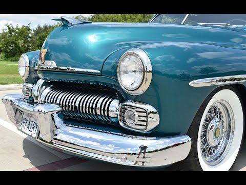 1950 Mercury Convertible Stunning Resto-Mod #Video