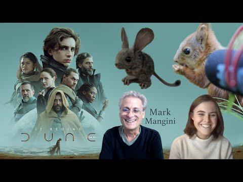 My Squirrel Recording is in a MOVIE! DUNE: Mark Mangini, Oscar Winning Sound Designer #Video
