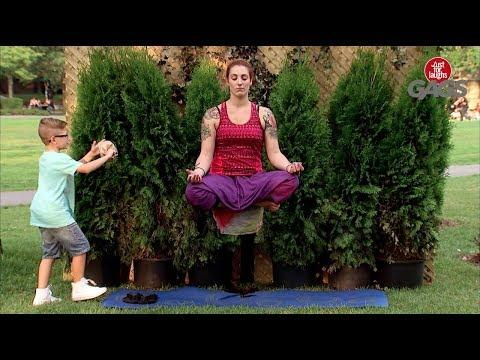 Kid Interrupts Real Levitation