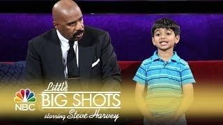 Little Big Shots - Akash Spells Words from the Hood (Episode Highlight)