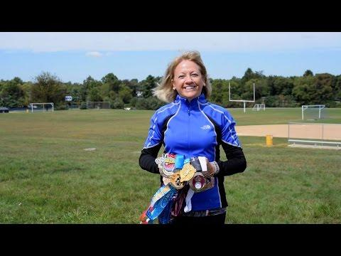 Miles For Hope - Woman Completes 50 State Challenge