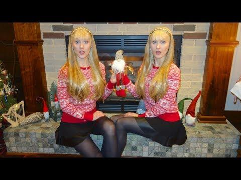 NAUGHTY NISSE (Original Story and Music) Harp Twins, Camille and Kennerly