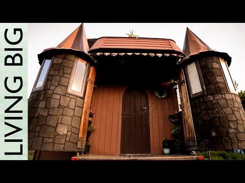 Unbelievable House Truck Transforms Into Fantasy Castle