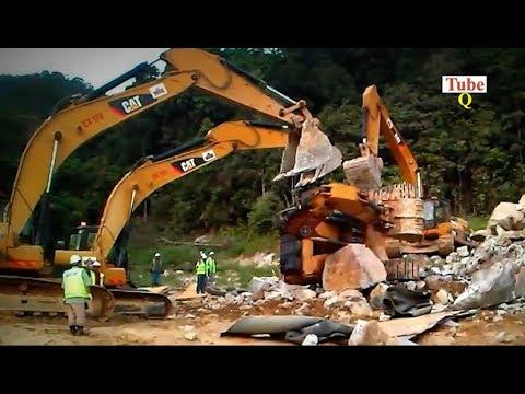 Excavator Fails & Recovery Heavy Equipment