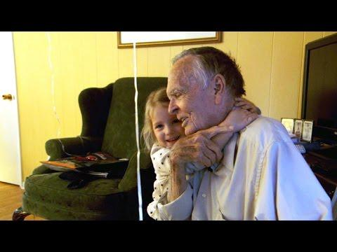 Little girl gives 82-year-old widower new lease on life