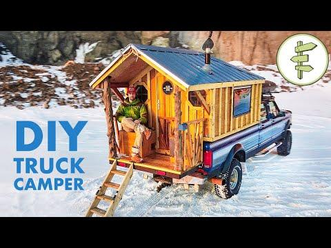 Living in an Epic Truck Camper Built for Off-Grid Overland Adventures | FULL TOUR #Video