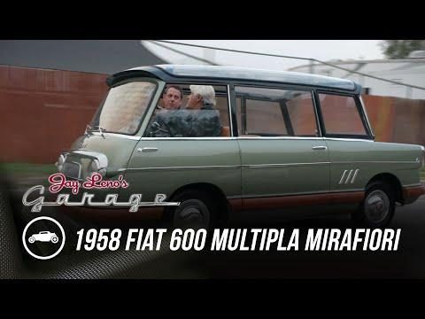 Two of Five Ever Built: 1958 Fiat 600 Multipla Mirafiori - Jay Leno's Garage
