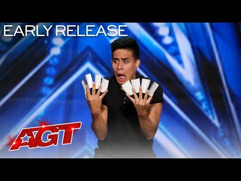Magician Consumed By Cards?! Winston Performs Incredible Card Tricks Video - America's Got Talent 20
