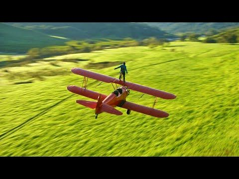 Wing Walking on a Airplane - 67 minutes of relaxing visuals and music