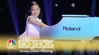 Little Big Shots - Five-Year-Old Piano Virtuoso (Episode Highlight)