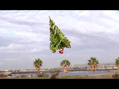 RC Flying Christmas Tree By Otto Dieffenbach