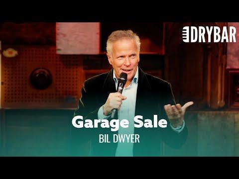 The Terrors Of Having A Garage Sale. Bil Dwyer #Video