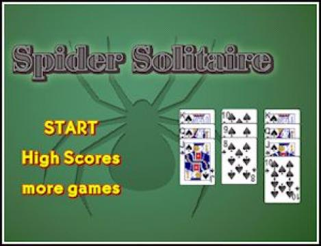 Free Game: Spider Solitaire