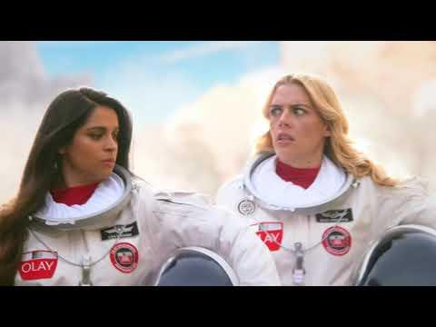 OLAY #MAKESPACEFORWOMEN | SPACE WALK SUPER BOWL TEASER