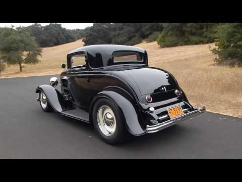 1932 Ford 3 Window Coupe Henry Steel Brizio Chassis (Sorry Sold)
